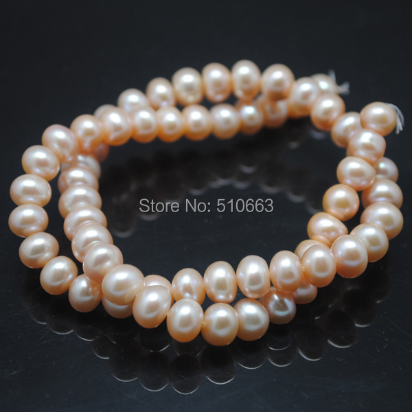1 Strands=38cm length/Lot(40pcs), Nature Cultured Freshwater Pearl,Abacus Shape,Golden Colors,Size: 12-13mm,Nature Pearl